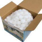 Filter Balls sind aus Polyethylen hergestellt2