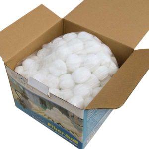 bild Filter Balls sind aus Polyethylen hergestellt