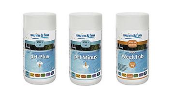 bild Pool-Wasserpflegemittel für Badezuber