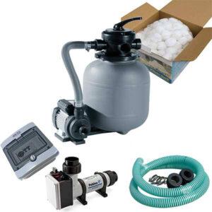 Elektrische Warmwasserbereiter und Wasserfilter