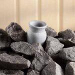 Duftglas aus Speckstein für Saunaofen_2