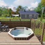 foto 1 einbau badefass fur 6 pers fur terrasse aus gfk