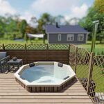 foto 1 einbau badefass fur 7 pers fur terrasse aus gfk