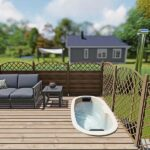 foto 2 einbau badefass fur 2 pers fur terrasse aus gfk