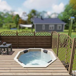 bild 2 einbau badefass fur 6 pers fur terrasse aus gfk