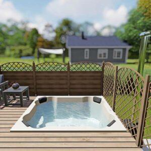 bild 2 einbau badefass fur 8 pers fur terrasse aus gfk